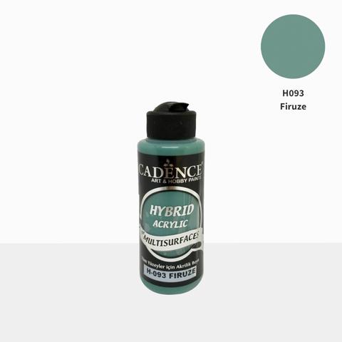 №93 Hybrid Acrylic, Бирюза, 70мл., Cadence