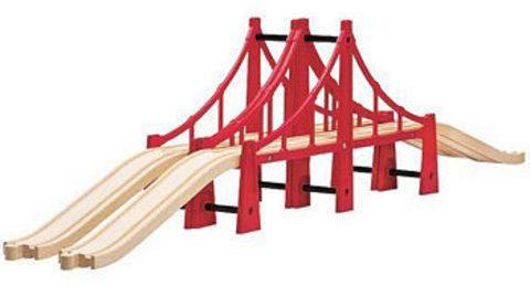 BRIO Подвесной мост, двойной, 5 элементов