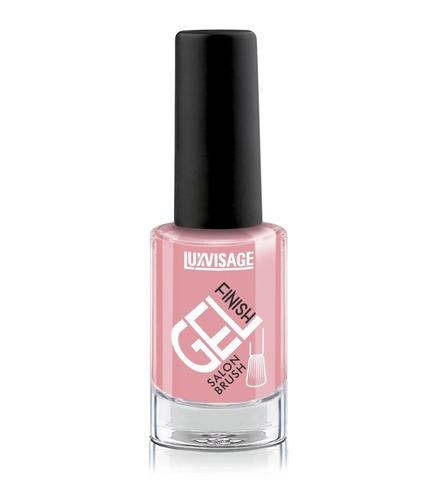 LuxVisage Gel Finish Лак для ногтей тон 19 (теплый розовый) 9г