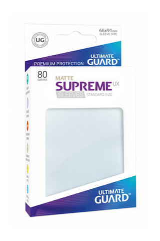 Supreme Sleeves Standard Size Matte Frosted (UX)