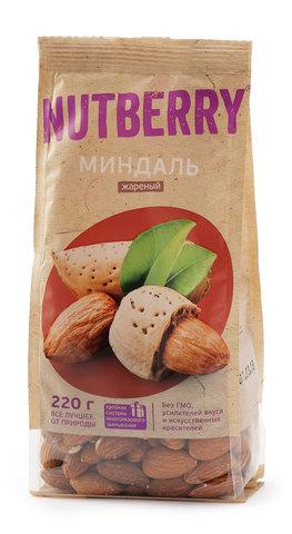 NUTBERRY Миндаль жареный 220 г
