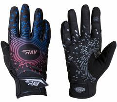 Лыжные перчатки Ray Race черный