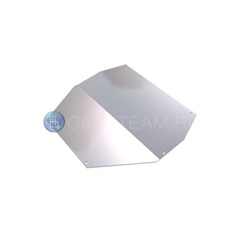 Защита двигателя алюминиевая для подрамника Автопродукт на Лада Калина 1 и 2, Гранта