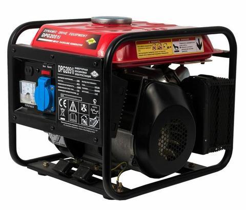 Генератор бензиновый инверторного типа DDE DPG2051i однофазн.ном/макс.  1.0/1.2 кВт (т/бак 4.2 л, ручн/ст, 17кг)