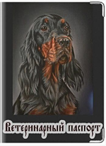 """Обложка для ветеринарного паспорта """"Ветеринарный паспорт"""" (24)"""