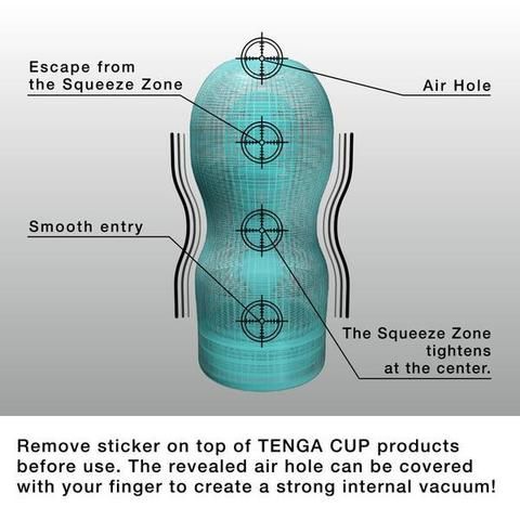 Tenga - Cool Edition Original Vacuum Cup