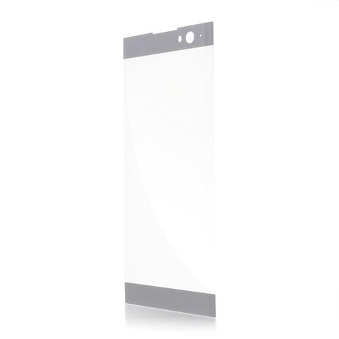 Защитное стекло серебристое для смартфона Xperia XA2