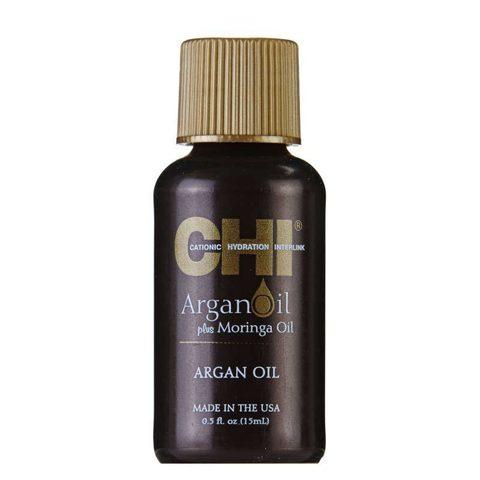 Масло восстанавливающее с экстрактом Аргана и дерева Маринга CHI Argan Oil, 15 мл.