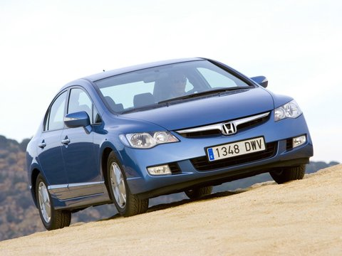 Чехлы на Honda Civic седан 2006–2012 г.в.