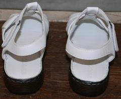 Сандалии женские кожаные Evromoda 15 White.