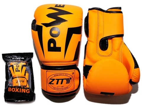 Перчатки боксёрские 6 oz.: Q116 ОРН-6