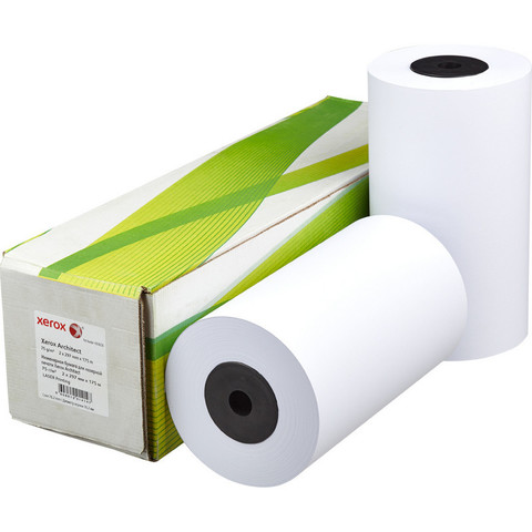 Бумага для ОфТех Xerox Architect (175мх297мм,д.76мм,75г)