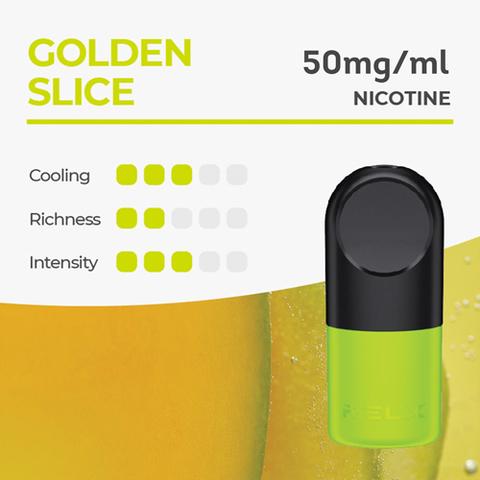Сменный картридж RelX Pro 1.9 ml - Golden Slice 5% (2шт)