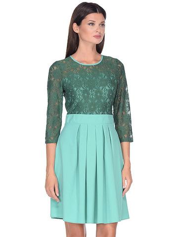 WD2727F платье женское, зеленое
