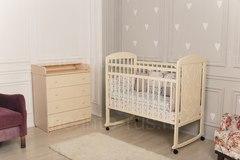 Детская кроватка «Incanto Civetta» колесо-качалка.