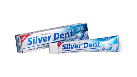 Modum Silver Dent Паста зубная Комплексная защита 100г