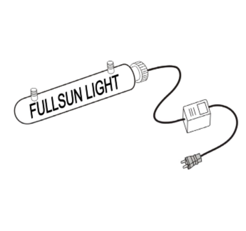 Стерилизатор воды CUV40W (Foshan Full Sun), Аквабосс