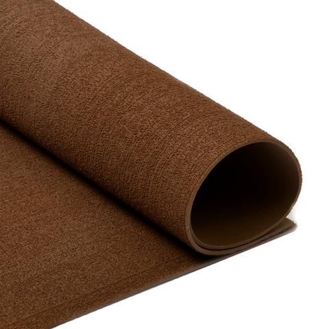 Фоамиран 2мм махровый. Цвет: коричневый