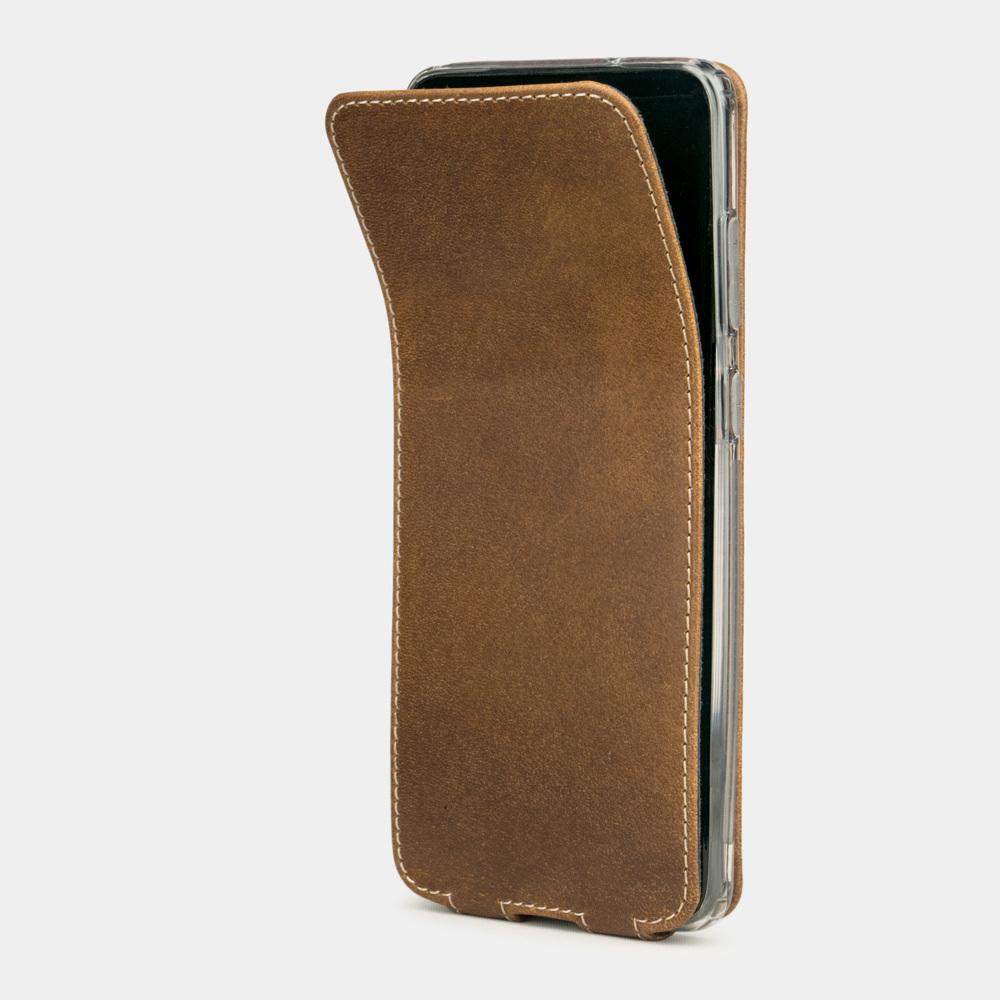 Чехол для Samsung Galaxy S20 из натуральной кожи теленка, цвета винтаж