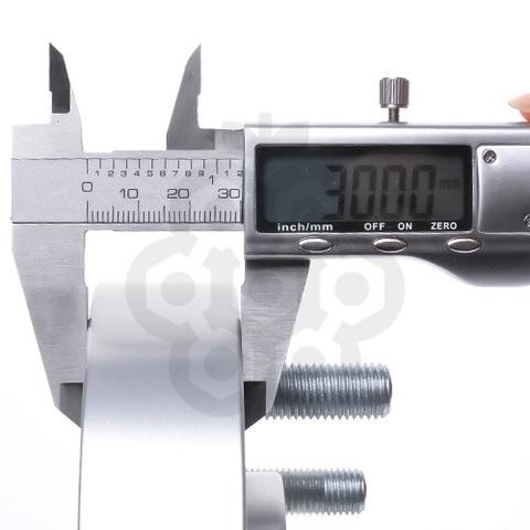 Проставка-адаптер с направляющей PCD 5х120 DIA 74.1 толщина 30, M12X1.5X30