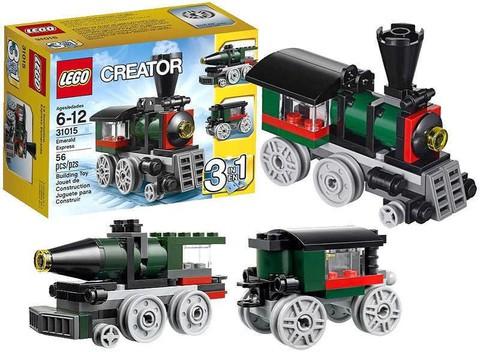 LEGO Creator: Изумрудный экспресс 31015 — Emerald Express — Лего Креатор Создатель