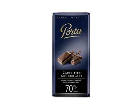 Горький шоколад 70% Какао Weinrichs 1895 Porta, 100 г