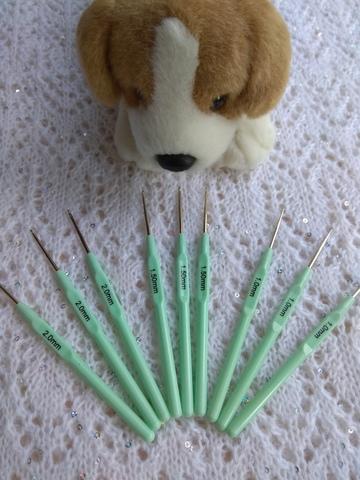 Крючки на пластиковой ручке