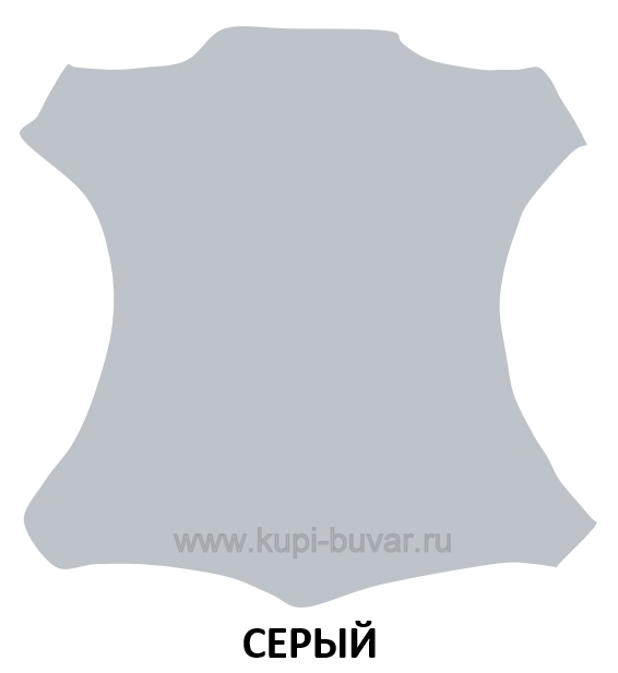 Кожа Cuoietto цвет серый.