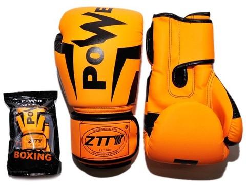 Перчатки боксёрские 8 oz: Q116 ОРН-8