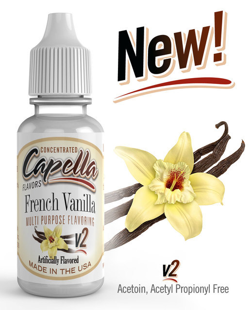 Ароматизатор Capella  French Vanilla V2
