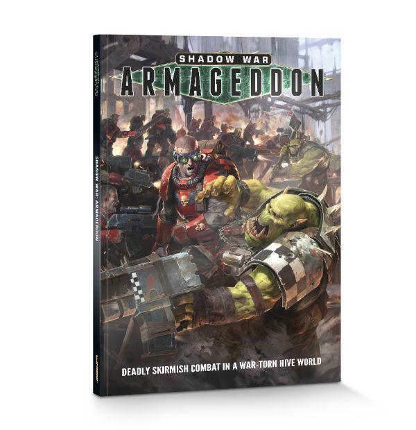 Книга Shadow War: Armageddon. Обложка