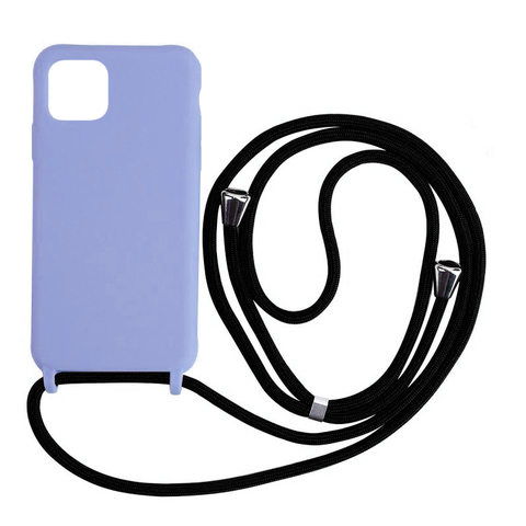 Чехол iPhone 11 Pro Max Silicone Case crossbody bag /glycine/