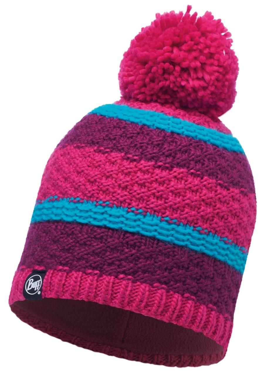 Женские шапки Вязаная шапка с флисовой подкладкой Buff Fizz Pink Honeysuckle 116006.511.10.00.jpg