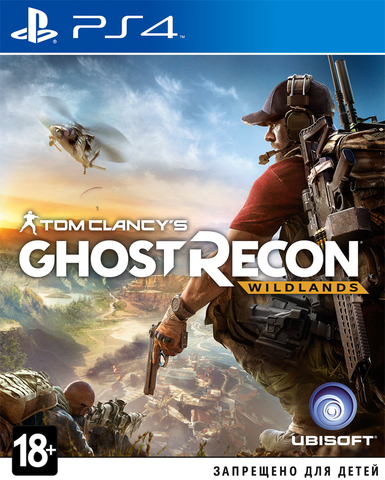 PS4 Tom Clancy's Ghost Recon: Wildlands (русская версия)