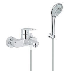 Смеситель для ванны с душевым набором Grohe EuroPlus 33547002 фото