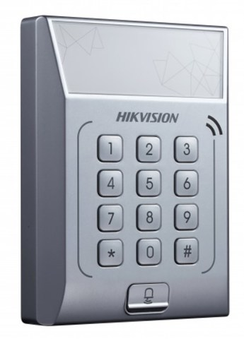 Терминал доступа со встроенным считывателем Mifare карт DS-K1T801M