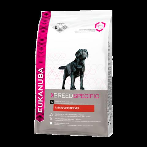 Eukanuba Dog Labrador Retriever Сухой корм для взрослых собак породы Лабрадор Ретривер