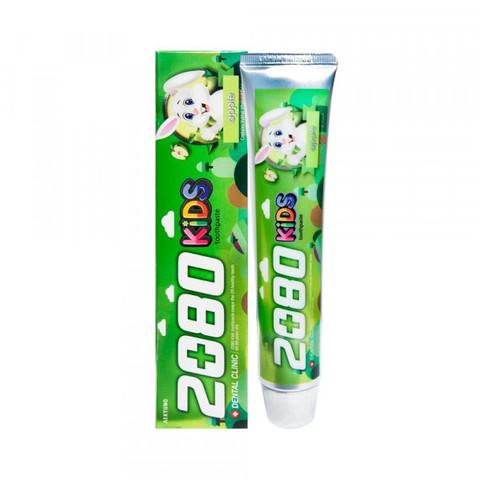 Зубная паста детская Яблочная Aekyung Dental Clinic 2080 KIDS Apple 80 гр