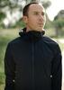 Беговая непромокаемая куртка Gri Джеди 2.0 черная