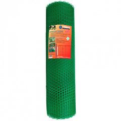 Сетка садовая пластиковая ромбическая Гидроагрегат 15x15мм, 1.5x20м, зеленая