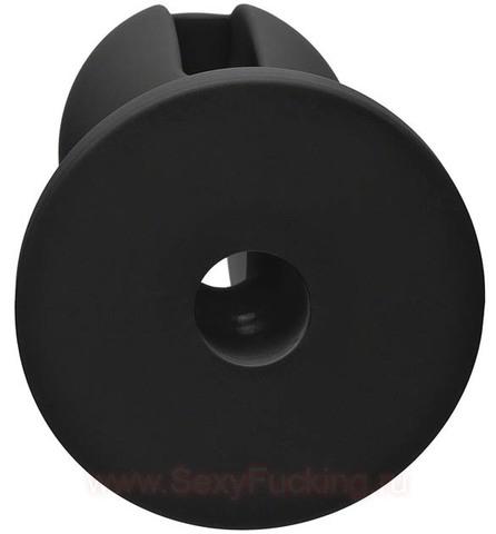 Силиконовая анальная пробка Kink Wet Works Lube Luge Premium Silicone Plug 5 (4,7 х 11,43 см)