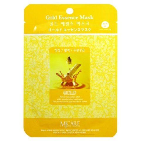 Маска для лица с золотом MIJIN COSMETICS Gold Essence Mask 30гр