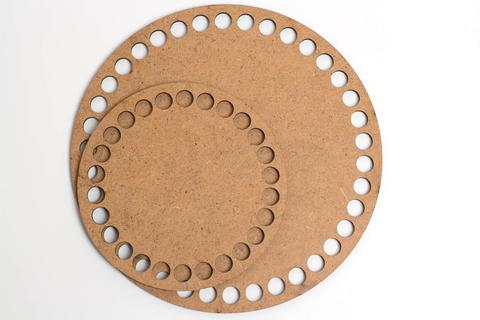 Круглое деревянное дно ХДФ