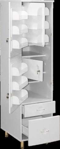 Шкаф медицинский для фармпрепаратов ШМФ-01  (мод.4) - фото