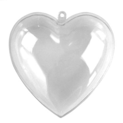 054-4602 Сердце из пластика, разъемная