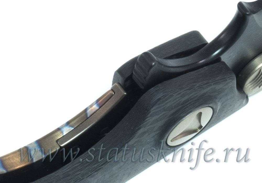 Нож Marfione Custom DOC ELMAX DLC Hand Rubbed Satin - фотография