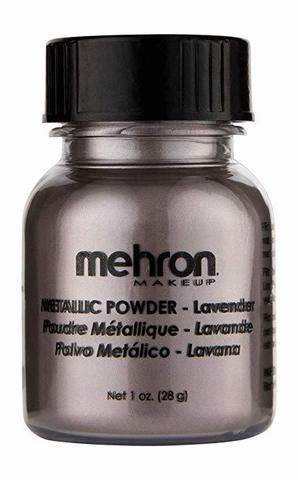 MEHRON Металлическая пудра-порошок Metallic Powder, Lavender (Лавандовый), 28 г