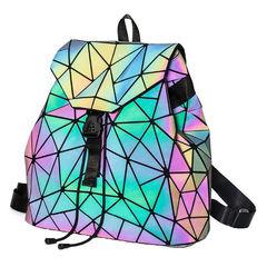 Голографический рюкзак-хамелеон