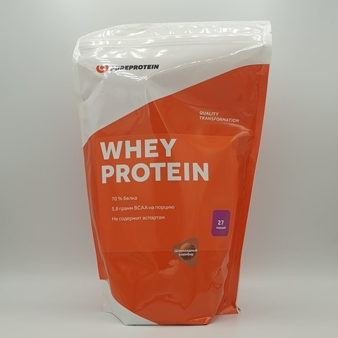 Сывороточный протеин вкус Шоколадный пломбир PUREPROTEIN, 810 гр