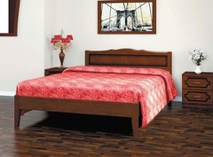 Кровать из массива Карина-7 (1200) орех-